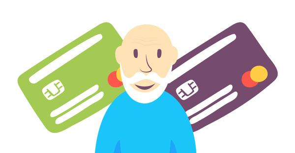 Банковские карты для пенсионеров